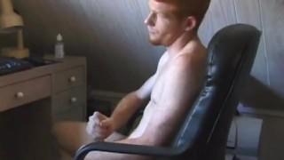 Tristian Beats His Meat  cum shot cjxxx college age