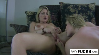 Avy home and vid aurora scott snow masturbation fingering