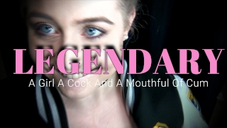 LEGENDARY - A Young Girl, A Hard Cock And A Mouthful of Cum! 4K porno