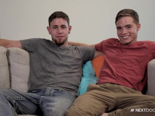 Bareback Fuck For Cute College Boy & First Time Friend!!