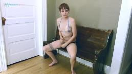 Bikini Strap On Masturbation / Twink / Jerk Off Instruction / JOI