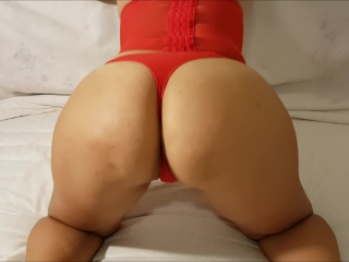 the sexy POV doggy style you'll see, three creampie