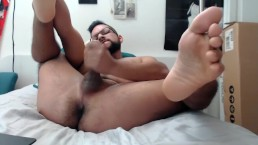 Hornylatinosuave, at your service. Cum watch me get offf. shh, parents home