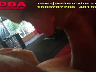 CHUPANDO BUENA PIJA EN MASAJES