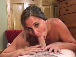 MILF rides and squirts on cock