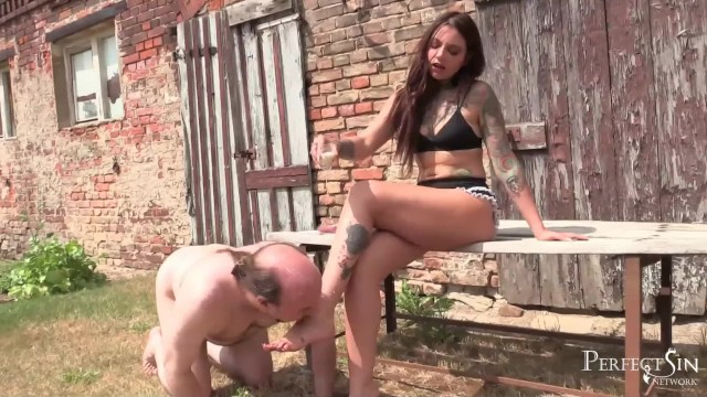 F f domina porn Beautiful french feet - food play with niiky f