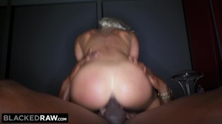 BLACKEDRAW Beautiful Teen's First BBC! Of on