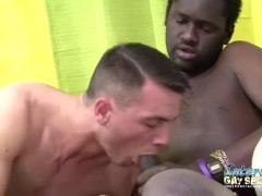 Office Gents Interracial Blowjobs