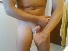 shaving and trimming dick and balls
