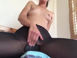 PantyHose Pillow Hump- Part 1 (camera cut off while filming)