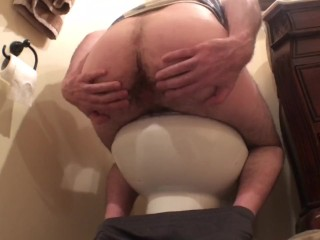 Straight Dirty Dilf Daddy - Purple Rabbit Up The Hairy Hole! GO Daddy$!'