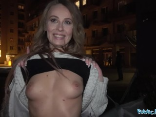 Public Agent Cheeky Brit Carmel Anderson gets a Pounding
