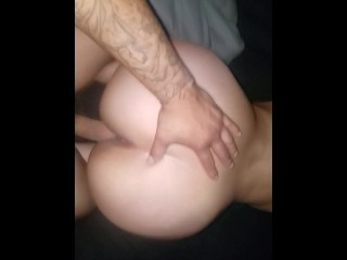 Sexy tiny tits video wake up to head and a quick nut blowjob girlfriend big ass latina big a