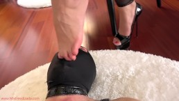 Unworthy to even lick My toes Preview