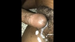Creamy Jamaican pussy
