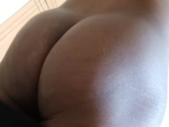 Big Black Booty In Your Face
