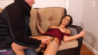 Hot Desperate Housewife MILF Loses Rent Money- Scenes 1 & 2 Mandy Flores Lingerie toys