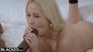 BLACKED High End Escort Hooks Up With Her BIGGEST BBC EVER