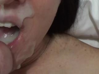 Homemade facial for cum hungy girlfriend
