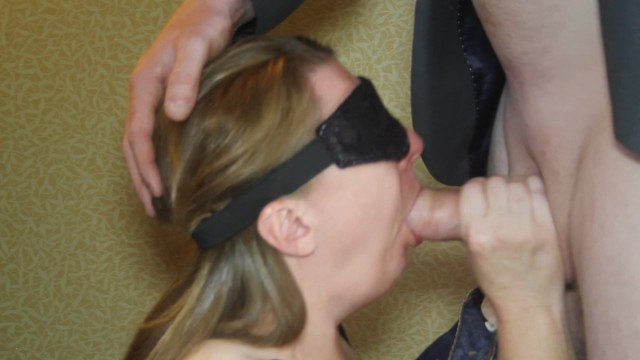 Happy birthday slut load Submissive wife gets birthday surprise in hotel. anonymous cock to please.