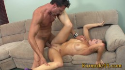 Hot Babysitter Teen with Big Ass Gets Fucked by Dad