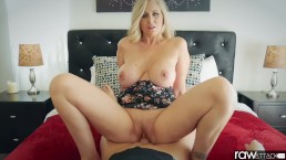 RawAttack - Big booty Julia Ann is punished by a big dick, interview