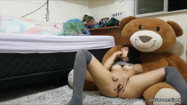 Ice! - Ass To Mouth and Ice Play Masturbation