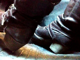 Pedal pumping and cranking in my boots, super close up angle TEASER