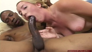 Young Jamie Rae takes a huge black cock rampage