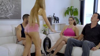 My Family Pies - StepBro Almost Caught Fucking His Teen Sisters S2:E6 Small girl