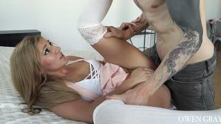 Fun hookup sex tape with Moka Mora