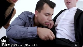 BiEmpire Bi Couple gets Excited to Share Dick!  ass fuck bi couple bisexual male biempire oral analized handjob bisexual bi bisex reality 3some cock sucker bisexual anal hard fast fuck