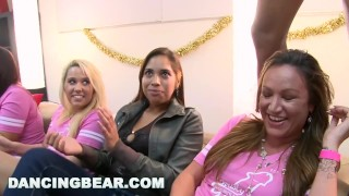 DANCING BEAR - Christie's Bachelorette Party With The Dancing Bear Blowjob big