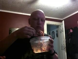 piggy feeding belly stuffing on a time limit soda chug 4/30/18