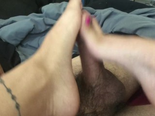 My first foot job!