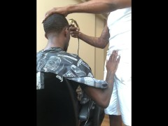 Khi Lavene the Barber.. We've all had this fantasy..