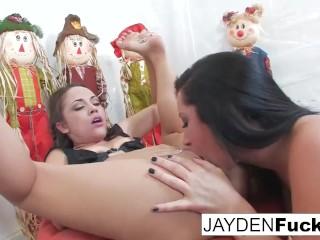 Jayden and Kristina's Pumpkin Fun