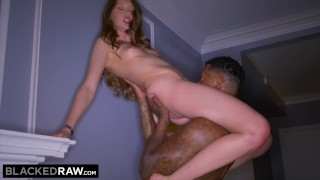 BLACKEDRAW Teen Gets Dominated By BBC Before Going Home porno