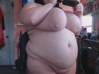 BBW Cheek & Belly Inflation