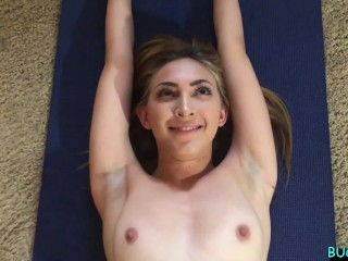 Real Model Valentina Personal Training Shoot Turns Into Face Fucking