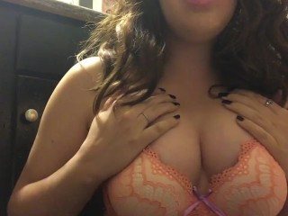 Chubby Teen Smoking - Hypno JOI with Cum Countdown - Big Perky Tits