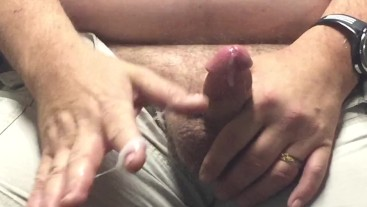 Jacking off at work