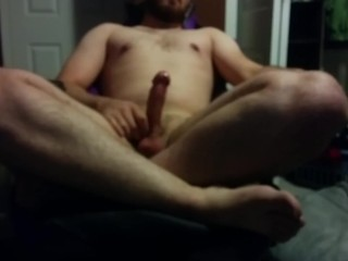 Blurry Cross Leg Masturbation lol