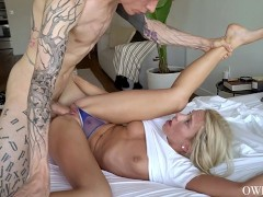 Khloe Kapri Dominated Rough Sex and Creampie