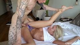 Khloe Kapri Dominada sexo duro y creampie