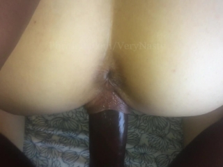 Pussy gripping BBC really tight POV
