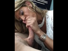 Glamgurlxoxo drains straight guy's cock, pt 1