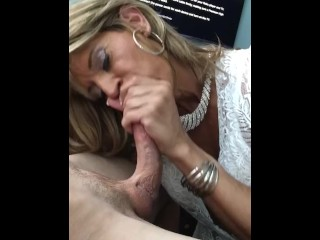 Glamgurlxoxo drains straight guy's cock, pt 1