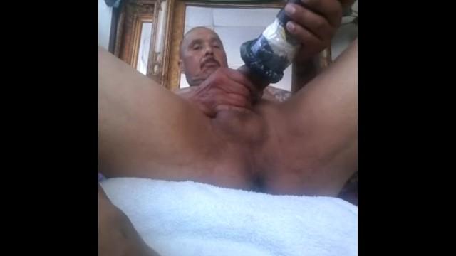 Masturbation with meth Doing my thing smoking pumping my cock
