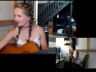 """""""Big Rock Hard Cock Mountain"""" Webcam girl Original Song - Harper the Fox"""